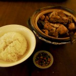 肉骨茶。漢字だけを見るとちょっと怖いけど…