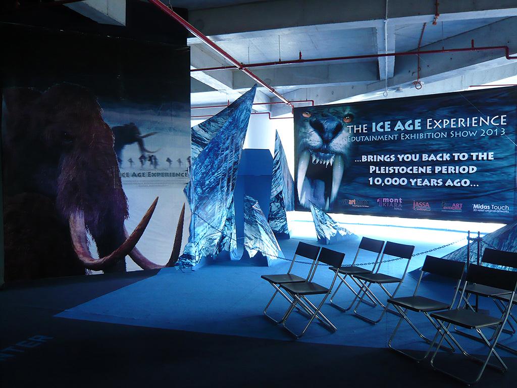マレーシアでICE AGE?…氷河期時代を見てみよう!?
