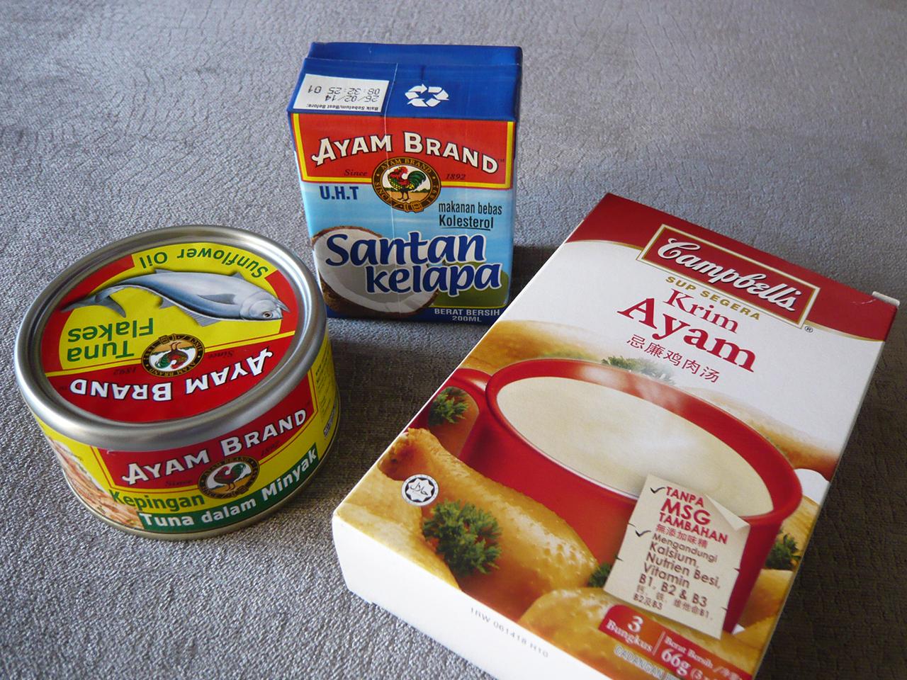 マレー語・中国語・英語…お買い物は多民族仕様?